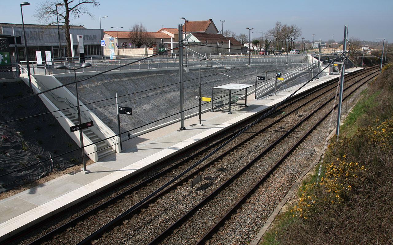Halte de Gare Gorges