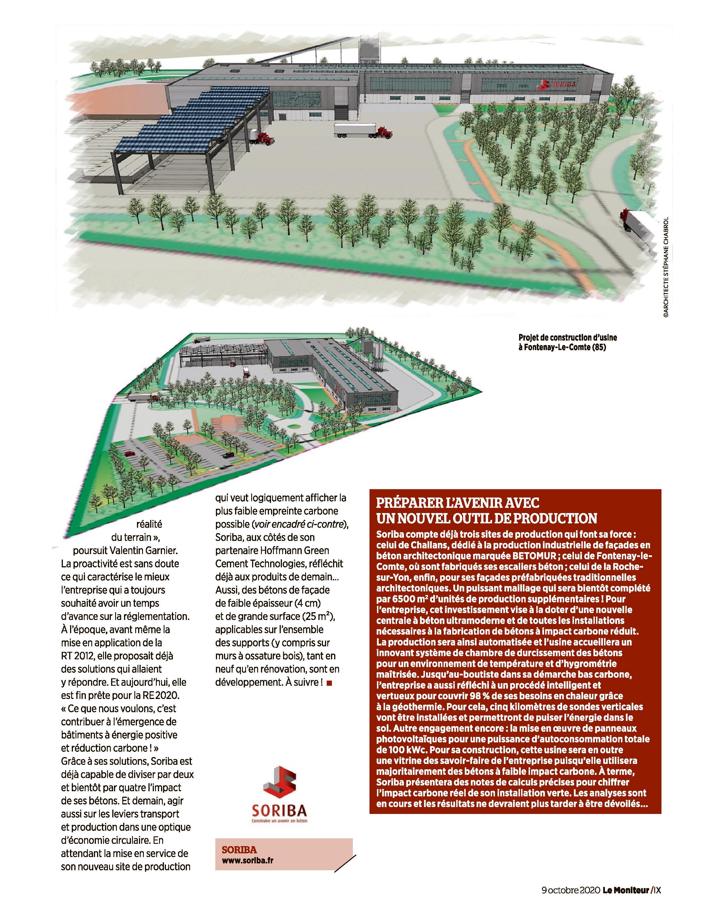 Article Le Moniteur - Publidossier du 09.10.2020 page 2